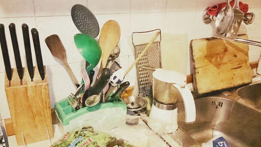 My kitchen. Kitchen Utensils Sonyxperiaz1 Foodphotography Sbagliandosimpara
