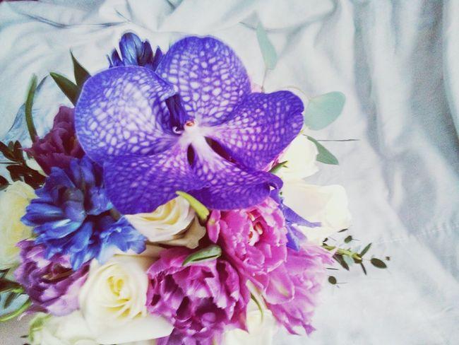 букет свадебныйбукет Bouquet Vanda Orhideya ванда