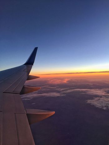 Showcase March Airplane View From Above View From The Window... View From An Airplane Sunset Sunrise_sunsets_aroundworld