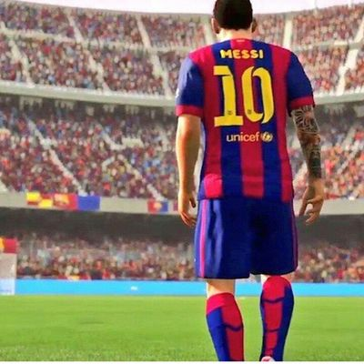 Messi in the game fifa 16 @leomessi @fifa15officiall