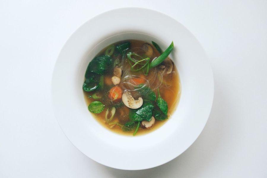 Asian Noodle Soup Vegan Good Food Vegetarian Food
