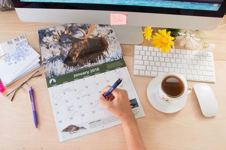 Calendar flat lay Calendar Calendar, Date, Desk, Writing, Computer, Office, Flat Lay Day Desk Diary Directly Above High Angle View Indoors  No People Paper Pen Pencil Table