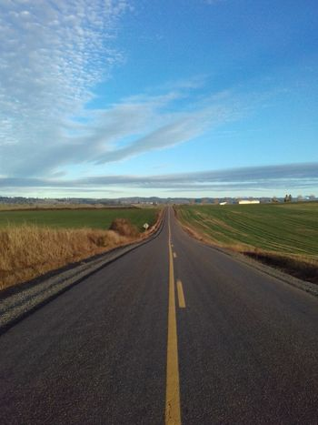 The Way Forward To Country Roads Road Landscape Scenics Sky Cloud - Sky Rural Scene Outdoors No People
