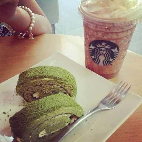 I like the food or drink for Matcha☺