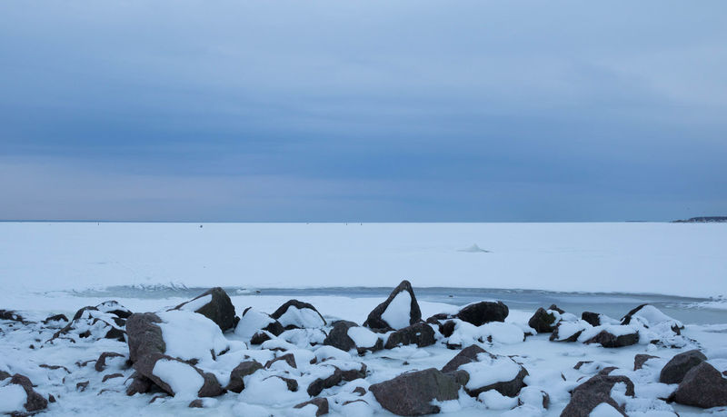 The Gulf of Finland Beach Clear Sky Cold Frozen Horizon Over Water Outdoors Sea Seascape Winter Walking Atmospheric Mood Winter Landscape Wintertime February Showcase: February Saint Petersburg
