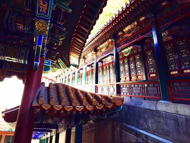 The Summer Palace Architecture Indoors  Built Structure No People Travel Destinations Day