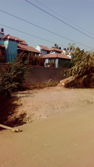 Residential Structure Residential Building Mobile Photography Cut Trees SSClickpix SSClicks SSClickPics Iffco Chowk Gurgaon