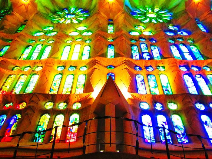 Lighting Taking Photos Colorful Mosaic Mosaic Glass Mosaicart Buildingphotography Oldbuilding Architecturephotography SagradadeFamilia Sagradafamiliachurch Sagradafamiliabarcelona Sagradafamilia Gaudi Barcelona Eyeemcollection Amazingview Artphotography From My Point Of View Window Window View Eyeemphotography