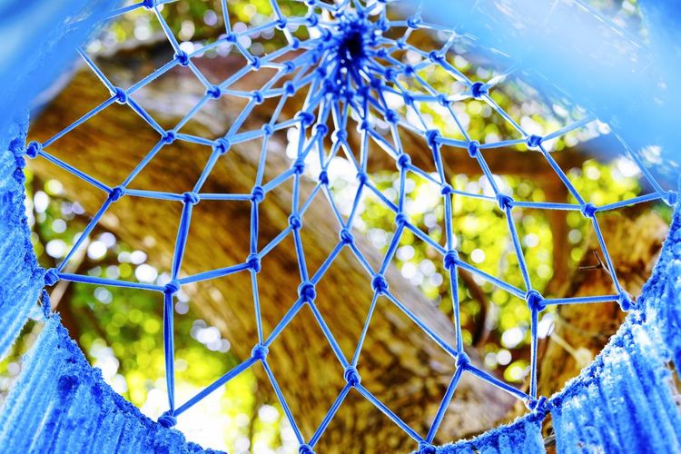 Net Art Products Knitting Art Dyed Fabric Day Outdoors Fragility