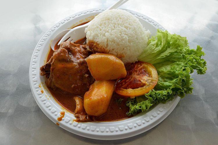 Chicken Curry Rice Chicken Curry Curry Rice Sgfood Foodporn