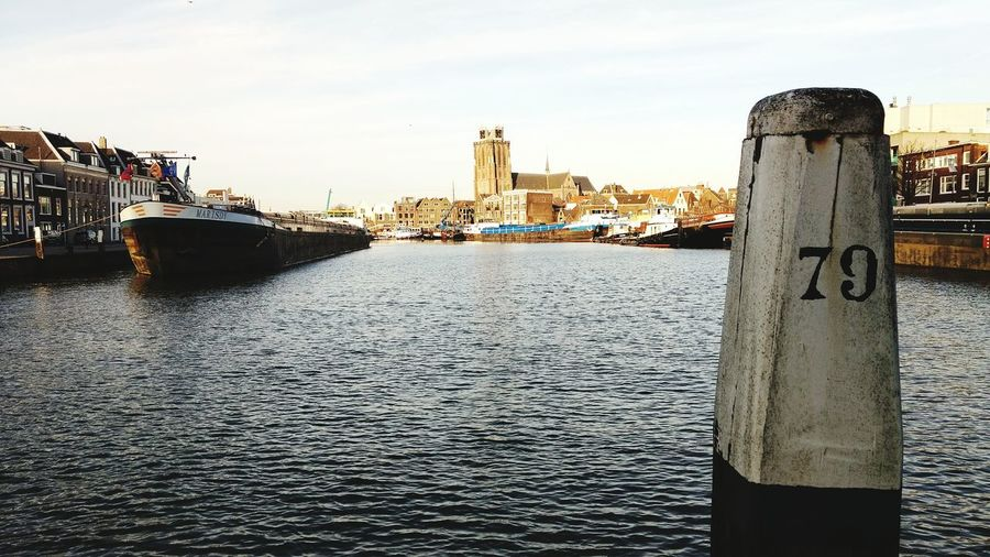 Pier 79 Grote Kerk Dordrecht Netherlands