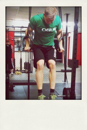 Rolig träning :) gymnastisk Crossfit Crossfitathlete  Enjoying Life