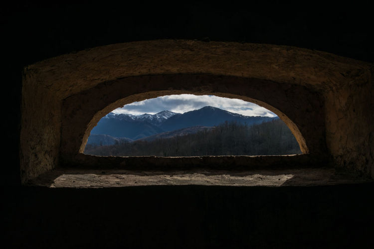 Cimitero Napoleonico Clouds Fontechiari Monumento Mountain Shadow Sora  Windiws