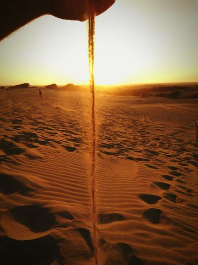 Sand flow as the sun rose....! Sand Dunes