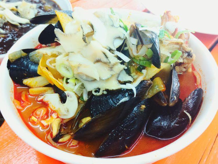 JEJU ISLAND  Udo Korea Seafoods Noodles