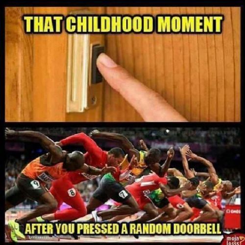 Doorbell Ditch Fundays GoodTimes childhood memories kids remember thelife thechase adrenalinerush thedare