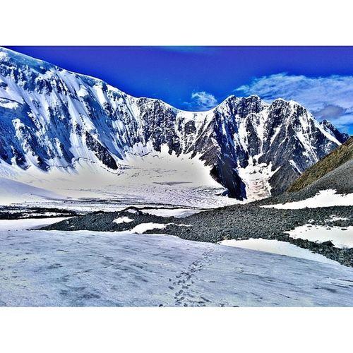 Алтай белуха томскиеночевки снег лето поход
