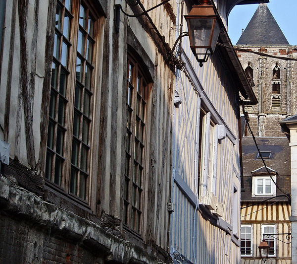 Honfleur Honfleur, France Old Town Architecture Building Exterior Built Structure City Day No People Outdoors Residential Building Sky Timber Window