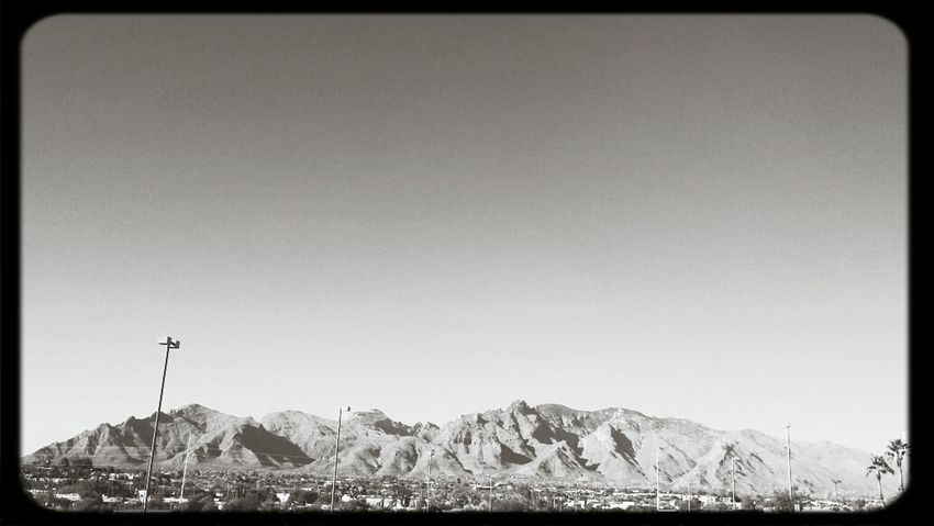 Mountains Desert Sky DesertSky
