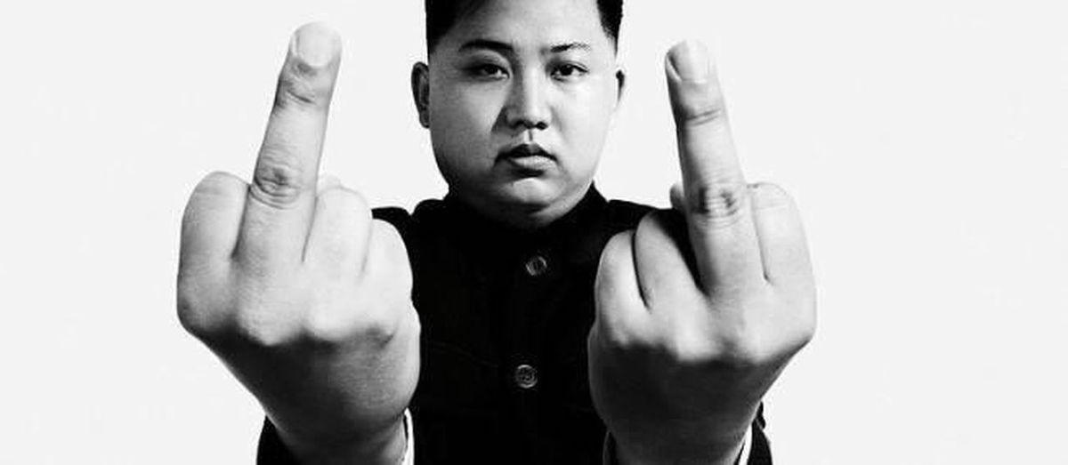 Respect Authority Korea North Blackandwhite Leader Psyco