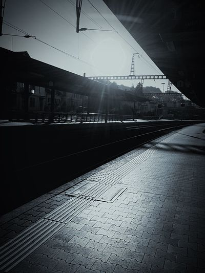 waiting for you... Untold Stories Public Transportation Hanging Out Taking Photos Taking Pictures Beautiful Train Morning Walking Around Waiting