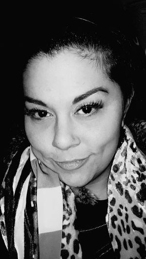 Self Potrait Female Feminism Black And White That's Me Hi! Enjoying Life
