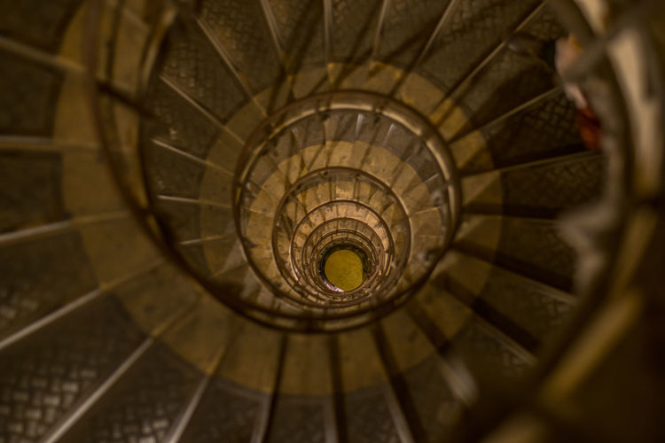 Stairs in Notre Dame Church. Church Catholic Church Lucassaid Paris France Notre Dame De Paris Spiral Staircase Concentric Steps And Staircases Spiral Steps Staircase Swirl Infinity Architecture Close-up Spiral Stairs Hand Rail Stairs Historic Railing Stone Material Architectural Detail Castle The Architect - 2018 EyeEm Awards
