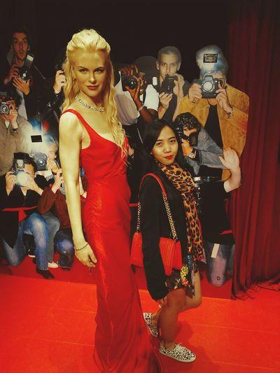 Throwback 2014 2015  HongKong Madametussauds Nicole Kidman Me Wax Figure