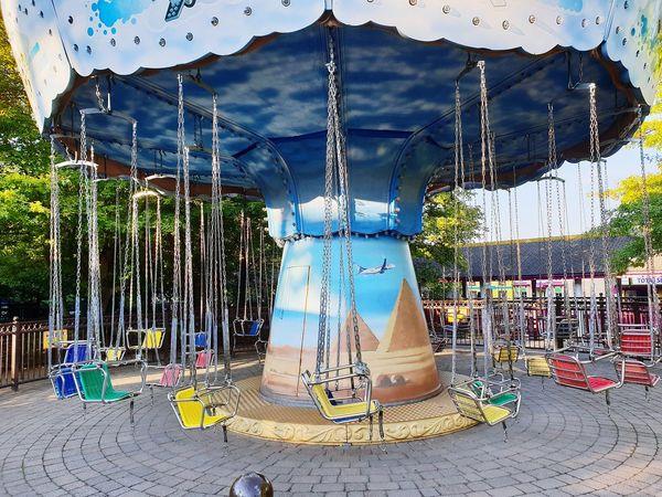 fairground EyeEm Selects Merry Go Round Carousel Amusement  Childrens Fun Tree Sky