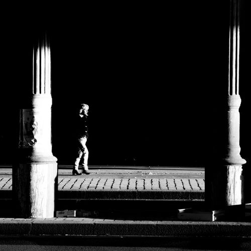 Streetphotography Blackandwhite TheWeekOnEyeEM Black And White City Life Person Light And Shadow