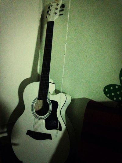My guitar Enjoying Life