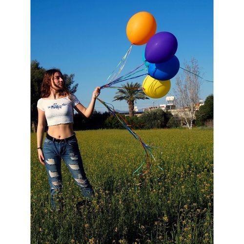 🎈 Ballons Nature Sunny Cyprus Spring Ballons🎈