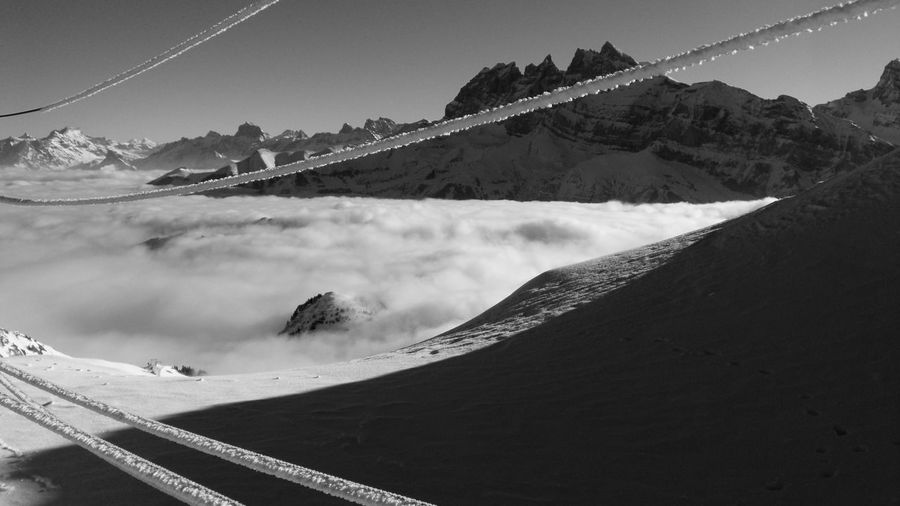 Arid Climate Avoriaz Clouds Cold Temperature Mer De Nuage Montagne Mountains Neige Nuages Snow ❄ Winter Point Of View Point De Vue Panorama Altitude Haute-Savoie  Showcase March Eyeem Collection At Getty Images