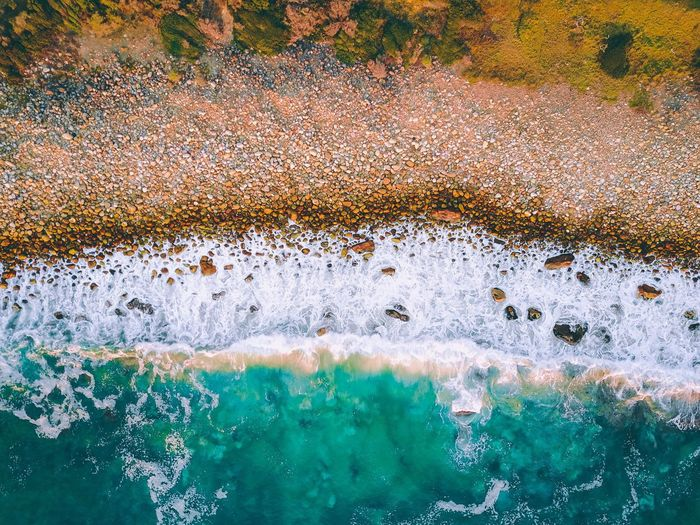 drone views. Water High Angle View Day Beauty In Nature Nature No People Outdoors Drone  Aerial View Ocean Water Blue