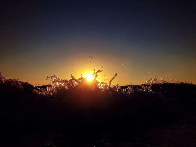 Sunsurfing. AMPt_Nature Breakin' Waves