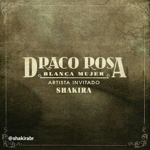 Confira a capa do single 'Blanca Mujer', de Draco Rosa com Shakira! ¡La portada de lo nuevo sencillo de Draco Rosa con Shakira, 'Blanca Mujer'! Check out the cover of Draco Rosa's new single featuring Shakira, 'Blanca Mujer' Shakirabrasil Shakira Blancamujer Dracorosa draco menudos