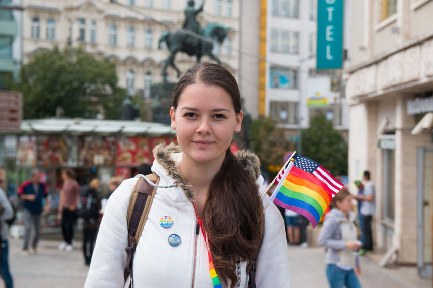 LGBT Rainbows LGBT Parade Prague Gay Homosexuel Lgbt Lgbt Pride Miting Parade People Pride Pride Parade 2017 Prideparade