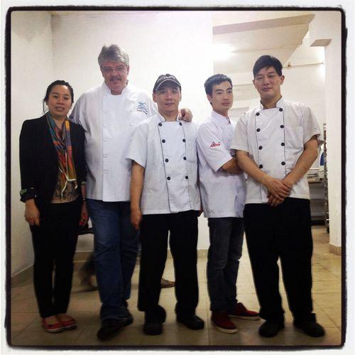 Thank you 'Fresh Garden' for two wonderful days ... Hanoi #vietnam #indochina Baking Cooking #chefthomas Fonterra #anchor