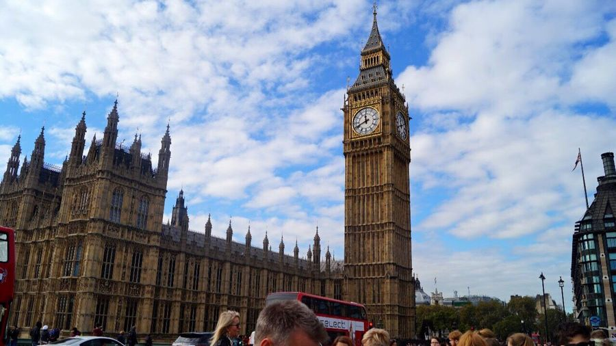 Big Ben Travel Destinations Architecture Cloud - Sky Tourism Travel Tower Day Outdoors City Great Britain London Classtrip2016
