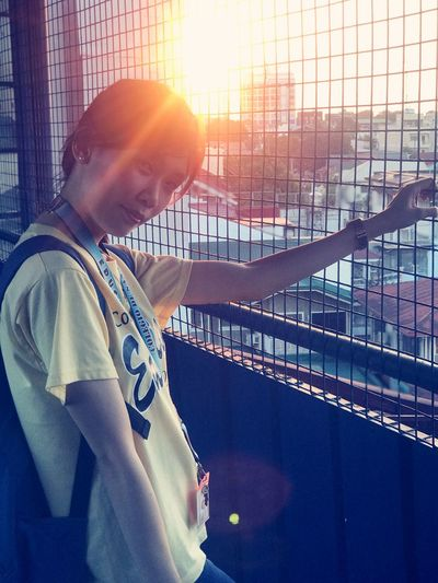 One Person Sunlight Lens Flare Men Young Adult Young Men Lifestyles