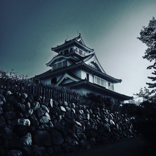 Nagahama Naghamacastle Castle Blackandwhite Black & White Ultimate Japan