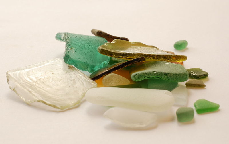 Glass Glass - Material SmallGlass Seaglass Seaglass Art Seaglasshunter Colors Still Life StillLifePhotography White Background Still Life Studio Shot Close-up No People Indoors