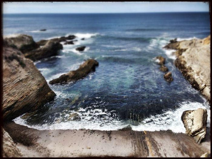 Landscape Ocean Cliffside Coming In