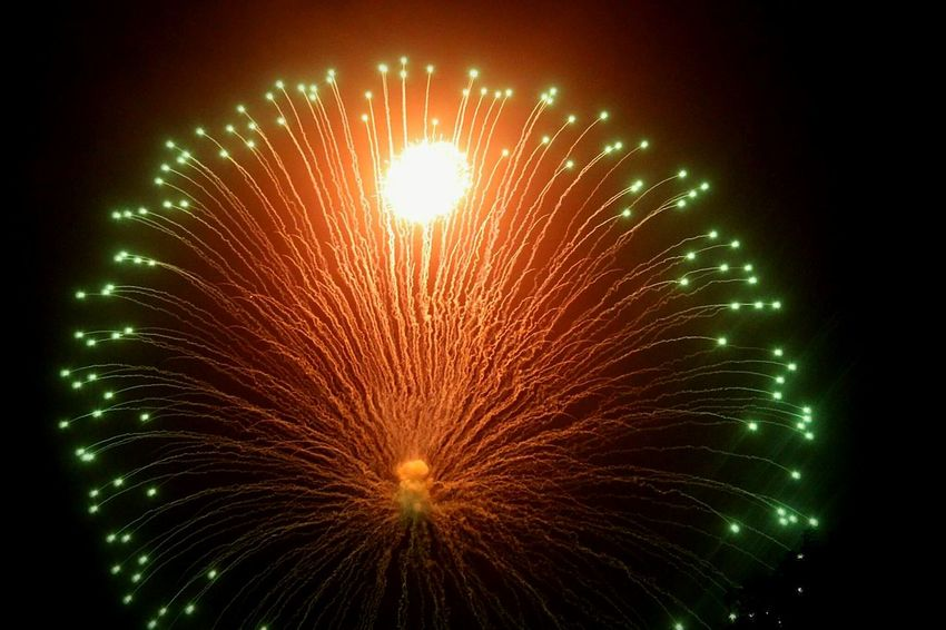 Exploding Firework Display Arts Culture And Entertainment Illuminated Celebration Night Tradition Feast Malta Colours