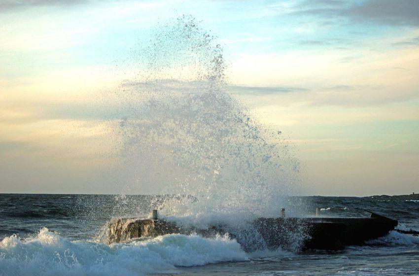 Sweden ocean summer Storm