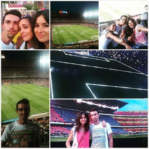 Estreno en el Camp Nou Johiera FCBarcelona  Campnou Gamper Quevienenporarriba Quevienenporabajo Pordondeseentra Donemnoslapau Jesusylapiarachinos