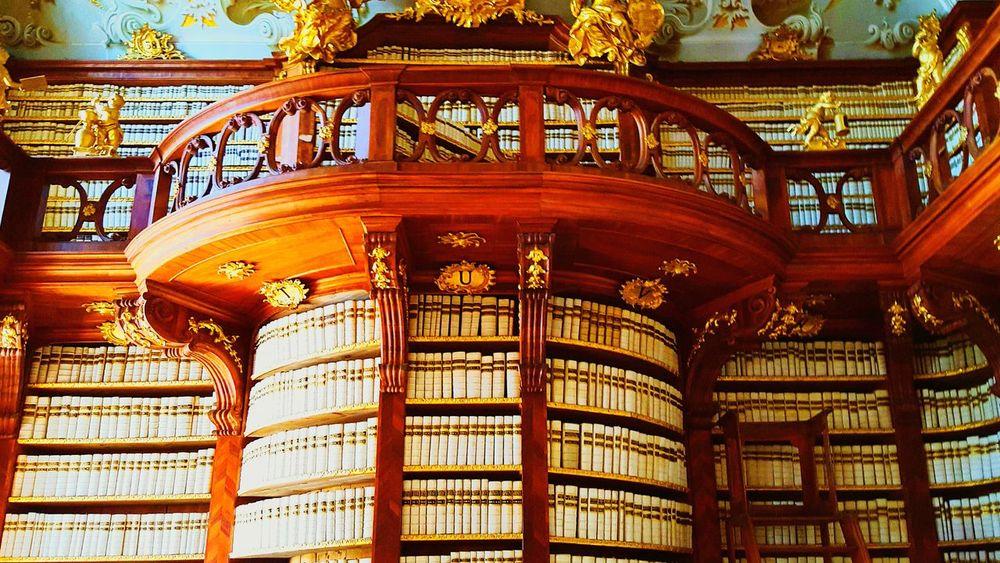 Library Royal Books Beautiful Monastery Monks Weddingplaces Church Austria Stift