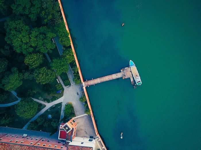 High Angle View Water Day Aerial View Architecture Outdoors Built Structure No People Nautical Vessel Building Exterior Nature Sea Beauty In Nature Sky Beauty In Nature Lost In The Landscape Connected By Travel Dronephotography DJI Mavic Pro EyeEm Gallery Panoramic Dji Lagoon Venice, Italy Droneshot Perspectives On Nature The Great Outdoors - 2018 EyeEm Awards