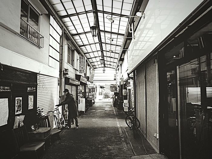 Japanese  Traditional Shopping ♡ Arcade in Setagaya Soba Noodles Shop Yakitori Shop Coffee Shop Etc Tokyo,Japan