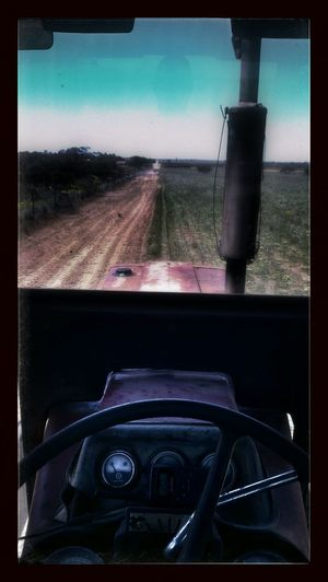 That's how I plough... Regional ViewFromMyTractor
